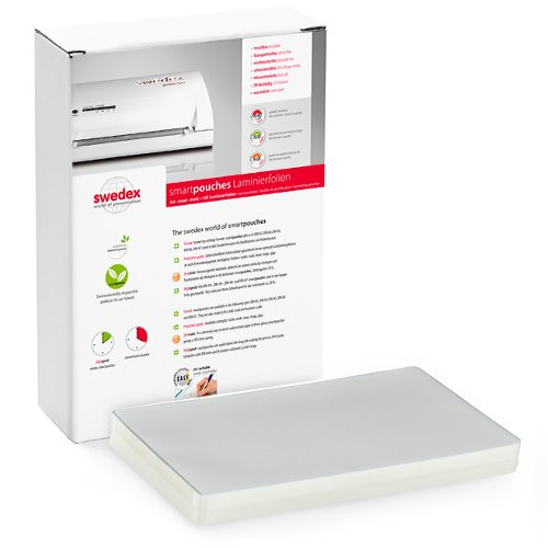 "Swedex 10mil 9"" x 14.5"" Legal Size High Speed Laminating Pouches - 100pk (MOC8124470001) Image 1"