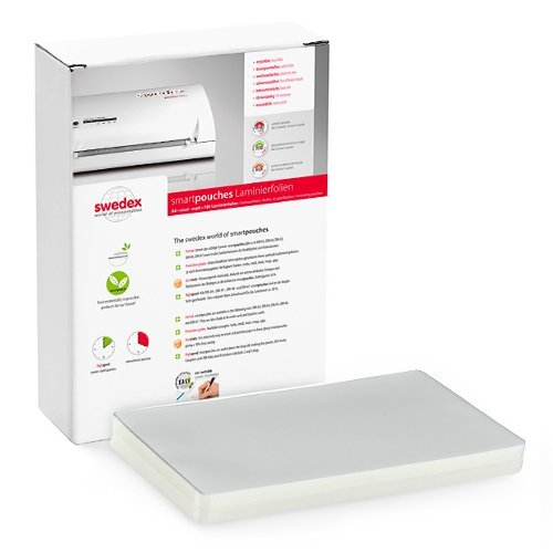 "Swedex 2.5mil 8.5"" x 11"" Letter Size High Speed Laminating Pouches - 100pk (MOC8124510001) Image 1"