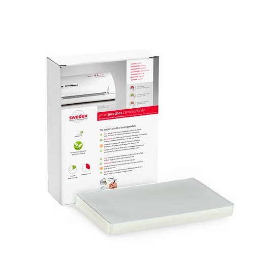 "Swedex 3mil 6"" x 9"" OBT/Note Card High Speed Laminating Pouches - 100pk (MOC8124690001) - $10.89 Image 1"