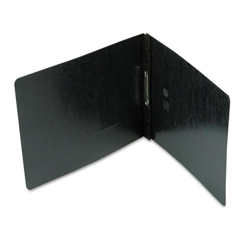 "Smead 2"" Black 8.5"" x 11"" PressGuard Report Cover with Top Prong Fastener (SMD-81124) Image 1"
