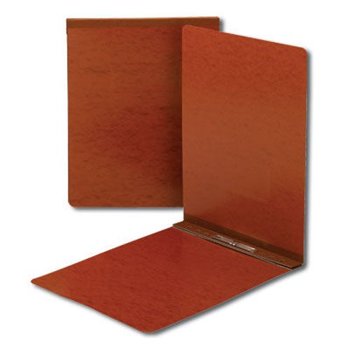 "Smead 2"" Red 8.5"" x 11"" Pressboard Report Cover with Top Prong Fastener (SMD-81725)"