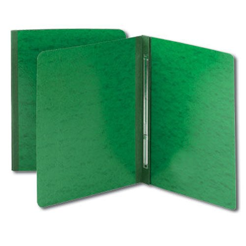 "Smead 3"" Green 8.5"" x 11"" Pressboard Report Cover with Side Prong Fastener (SMD-81451)"