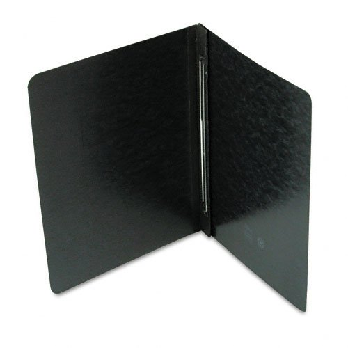 "Smead 3"" Black 8.5"" x 11"" PressGuard Report Cover with Side Prong Fastener (SMD-81152) Image 1"