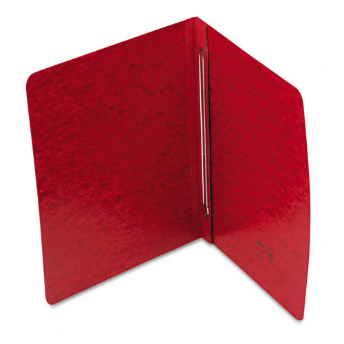 "Smead 3"" Bright Red 8.5"" x 11"" PressGuard Report Cover with Side Prong Fastener (SMD-81252) - $2.91 Image 1"