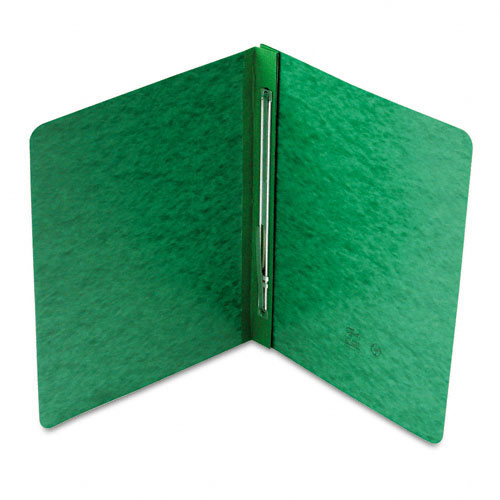 "Smead 3"" Green 8.5"" x 11"" PressGuard Report Cover with Side Prong Fastener (SMD-81452) Image 1"
