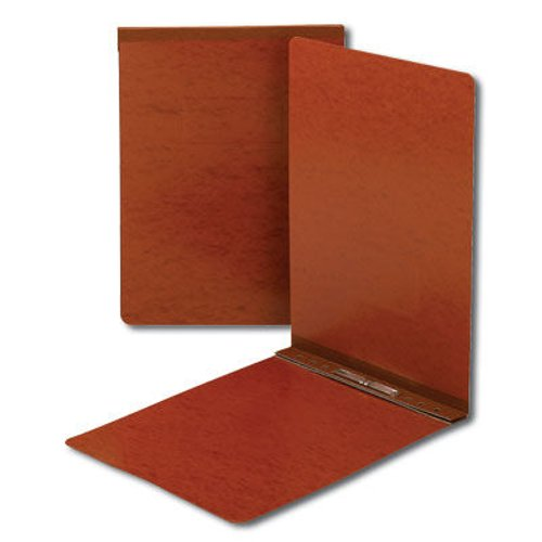"Smead 3"" Red 11"" x 17"" Pressboard Report Cover with Top Prong Fastener (SMD-81777)"