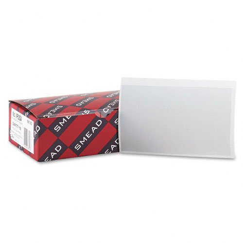 Clear Label Holders Adhesive Image 1