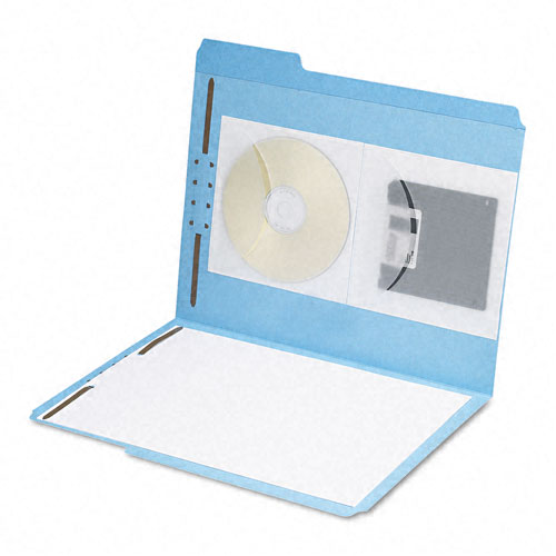 Clear Binder with Pocket in Front Image 1