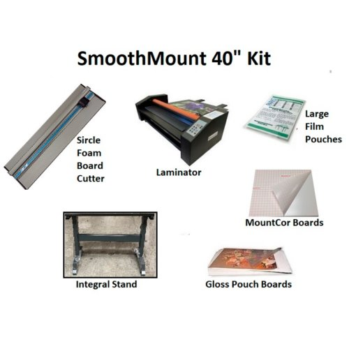 "Smooth Mount 40"" Pouch Board Roll Laminator Starter Kit (PBML-4025-KIT) Image 1"