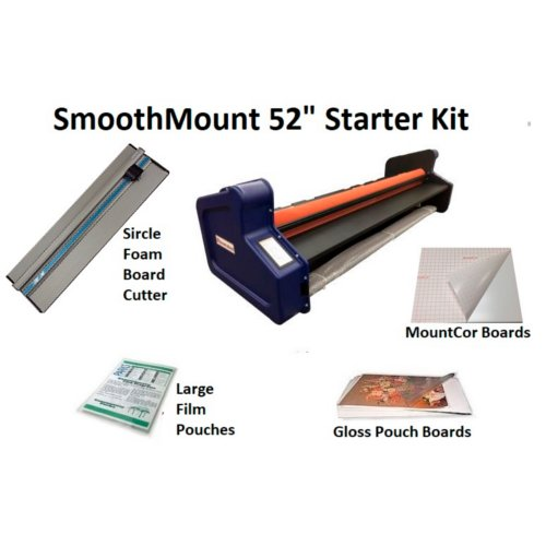 "Smooth Mount 52"" Pouch Board Roll Laminator Starter Kit (PBML5230-KIT) Image 1"