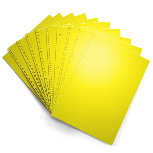 Astrobrights Solar Yellow Paper Image 1