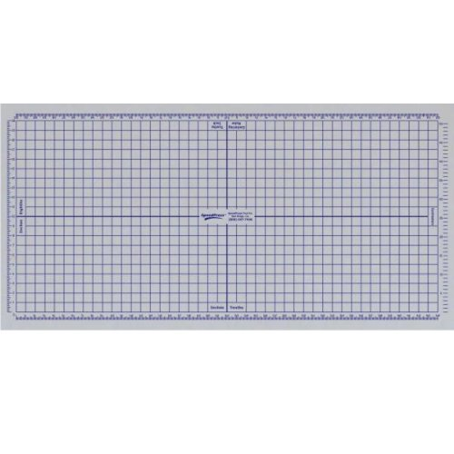 SpeedPress 4' x 12' Grid Sheet Only for Rhino Cutting Mat (SP-GS167) Image 1