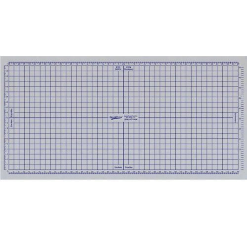 SpeedPress 6' x 12' Grid Sheet Only for Rhino Cutting Mat (SP-GS168) Image 1