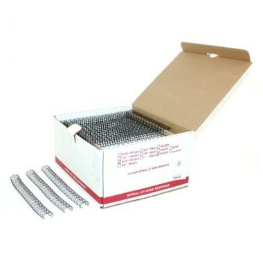 "1/4"" Spiral-O 19 Loop Wire Binding Combs (MYSO19W-140) - $30.39 Image 1"