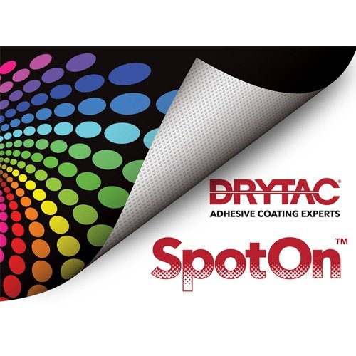 "Drytac SpotOn 4mil 25.5"" x 10' Clear Gloss Removable Self-Adhesive Printable Vinyl (SPOT25010) Image 1"