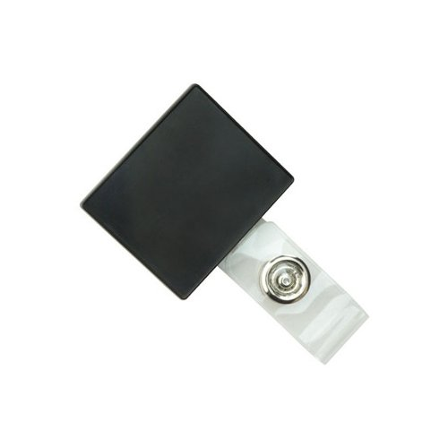 Square LogoClips with Swivel Clip and Clear Strap (2105-410)