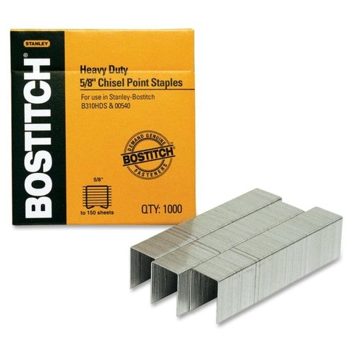 Stanley Bostitch Premium Heavy Duty Staples 1000pk (BOSSB3558-1M) Image 1