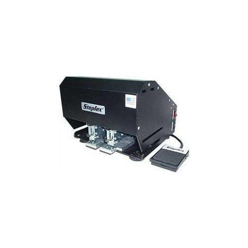 Staplex S-620NFS Double Header Electric Stapler with Foot Switch (STXS620NFS) Image 1