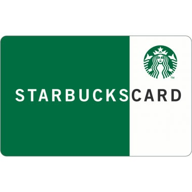 Starbucks Card ($5 Value) (Coffeecard) Image 1