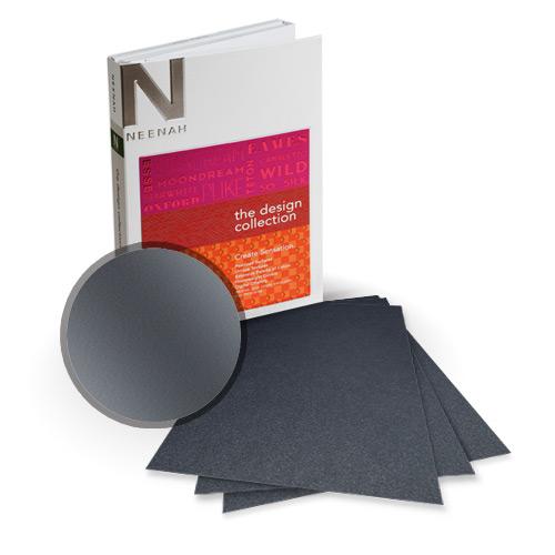 "Neenah Paper Stardream Anthracite Metallic 9"" x 11"" Card Stock - 8 Sheets (NSDCAN461-B) - $7.99 Image 1"