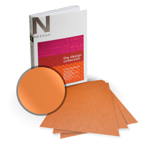 """Neenah Paper Stardream Flame Metallic 8.5"""" x 14"""" Card Stock - 8 Sheets (NSDCFL461-D) Image 1"""