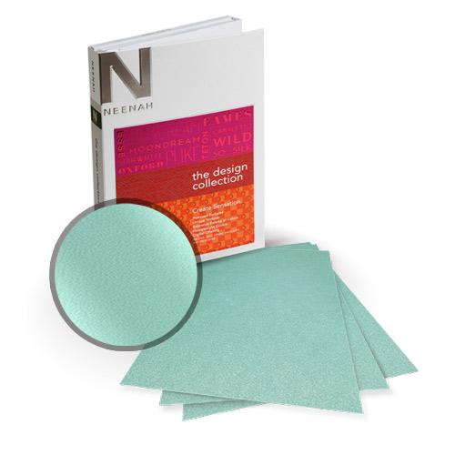 "Neenah Paper Stardream Lagoon Metallic 12"" x 12"" Card Stock - 6 Sheets (NSDCL461-F) Image 1"