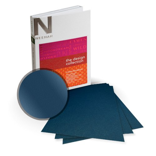 "Neenah Paper Stardream Lapis Lazuli Metallic 9"" x 11"" Card Stock - 8 Sheets (NSDCLL461-B) Image 1"