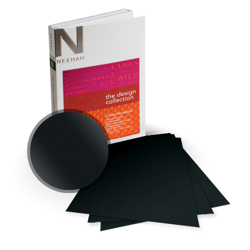 "Neenah Paper Stardream Onyx Metallic 8"" x 8"" Card Stock - 15 Sheets (NSDCON461-J), Neenah Paper brand Image 1"