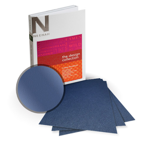 "Neenah Paper Stardream Sapphire Metallic 13"" x 19"" Card Stock - 4 Sheets (NSDCSA461-H) Image 1"