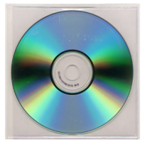 Adhesive CD Pockets Image 1