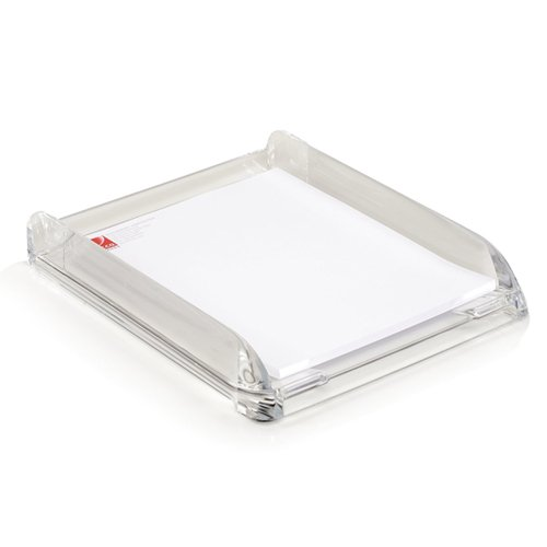Swingline Stratus Clear Acrylic Document Tray - S7010132 (SWI-10132), Work from Home Products Image 1