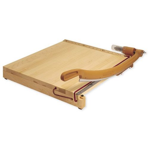 "Swingline Ingento 12"" x 12"" Maple Guillotine Cutter (SWI-1132) Image 1"