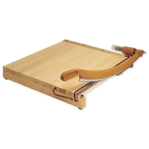 "Swingline Ingento 18"" x 18"" Maple Guillotine Cutter (SWI-1152) Image 1"