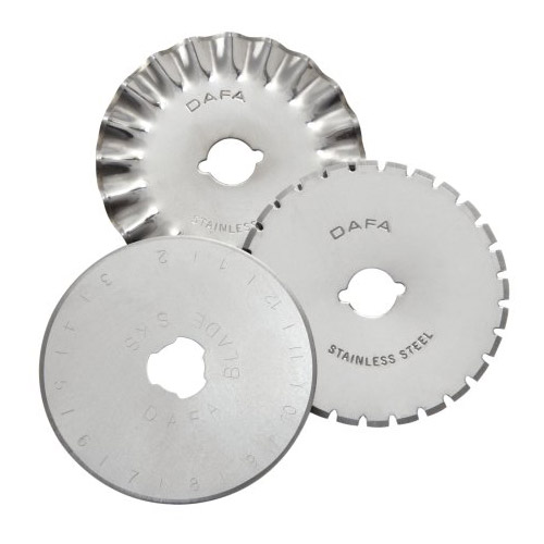 Swingline Replacement Blades for Hand Held Rotary Trimmer 3pk (SWI-8702) Image 1