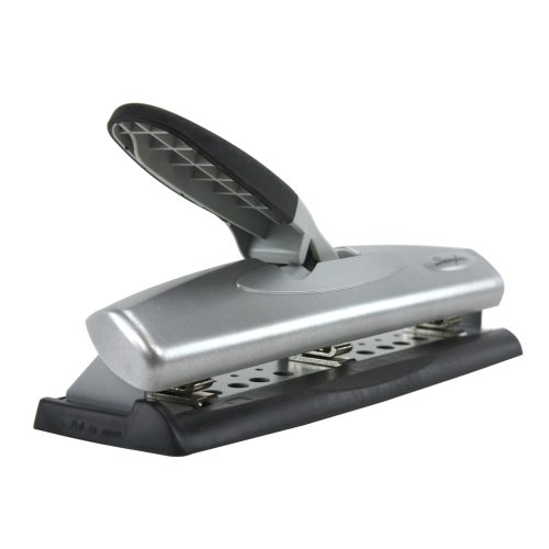 Swingline Black/Silver LightTouch Desktop Hole Punch (SWI-74026) Image 1