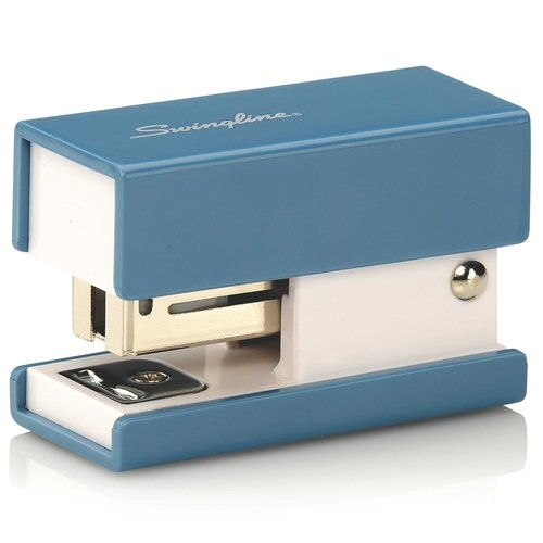 Swingline Blue Mini Fashion Stapler - S7087872 (SWI-87872) - $2.76 Image 1