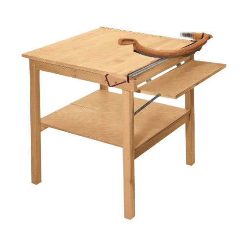 "Swingline ClassicCut CL560m 30"" Square Maple Table Trimmer (SWI-1174) Image 1"