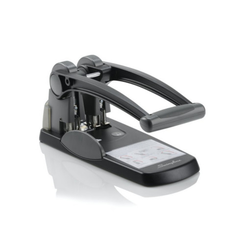 Black Swingline 2 Hole Punches Image 1