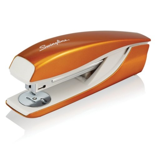 Swingline NeXXt WOW Orange Metal Full Strip Desktop Stapler (SWI-55047044), Binding Machines Image 1