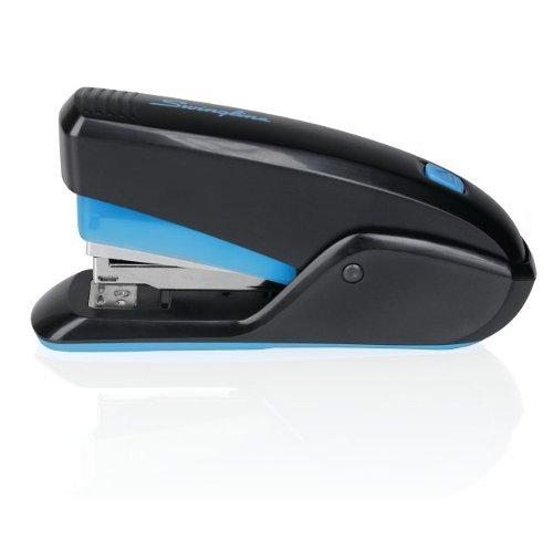 Swingline Quick Touch Black/Blue 15-Sheet Compact Stapler - SWI64564 (SWI-64564) - $10.9 Image 1