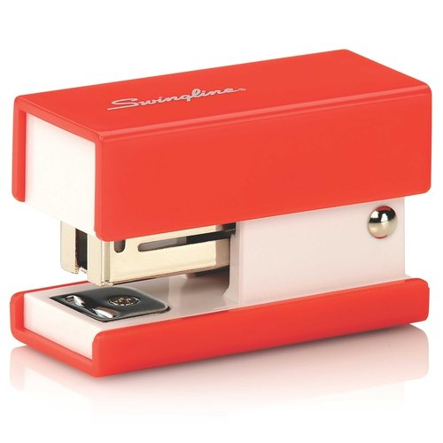 Swingline Red Mini Fashion Stapler - S7087873 (SWI-87873) - $2.66 Image 1