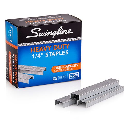 "Swingline S.F. 39 Heavy Duty 1/4"" Staples 5000pk - 79394E (SWI-79394) Image 1"