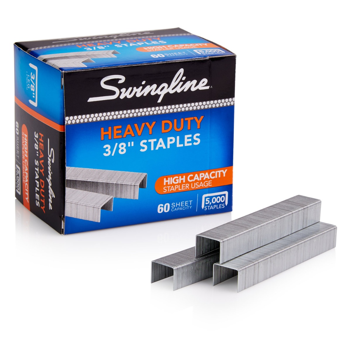 "Swingline S.F. 39 Heavy Duty 3/8"" Staples 5000pk - 79398E (SWI-79398) Image 1"