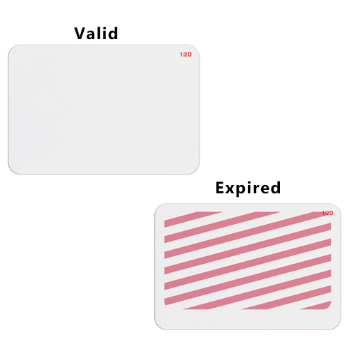 Manual TIMEbadge Expiring One Week Adhesive BACKpart (MYID06013) Image 1