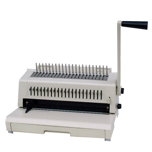 Plastic Comb Hole Punch Machine Image 1