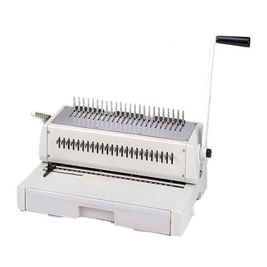 Legal Plastic Comb Binding Machine Image 1