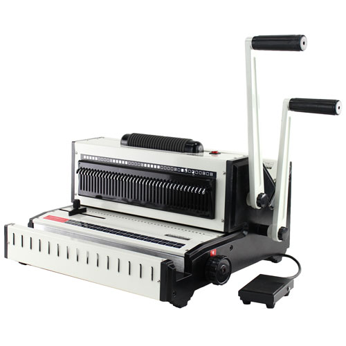 Tamerica 3:1 Wire and 4:1 Coil Punch Binding Machine (Opticombo-341) Image 1