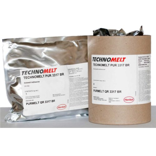 Morgana Technomelt PUR 3317 2kg Hot Melt Bookbinding Adhesive (PURMELTBR) Image 1