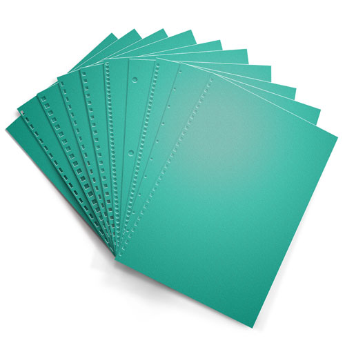 Terrestrial Teal Astrobrights 24lb Punched Binding Paper - 500 Sheets (PPP24ABTT) - $41.79 Image 1