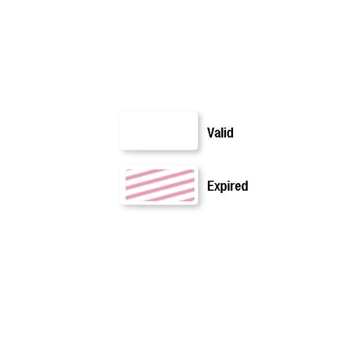 Thermal-Printable Expiring One Day TIMEtoken FRONTpart - Blank -1000pk (02013) Image 1